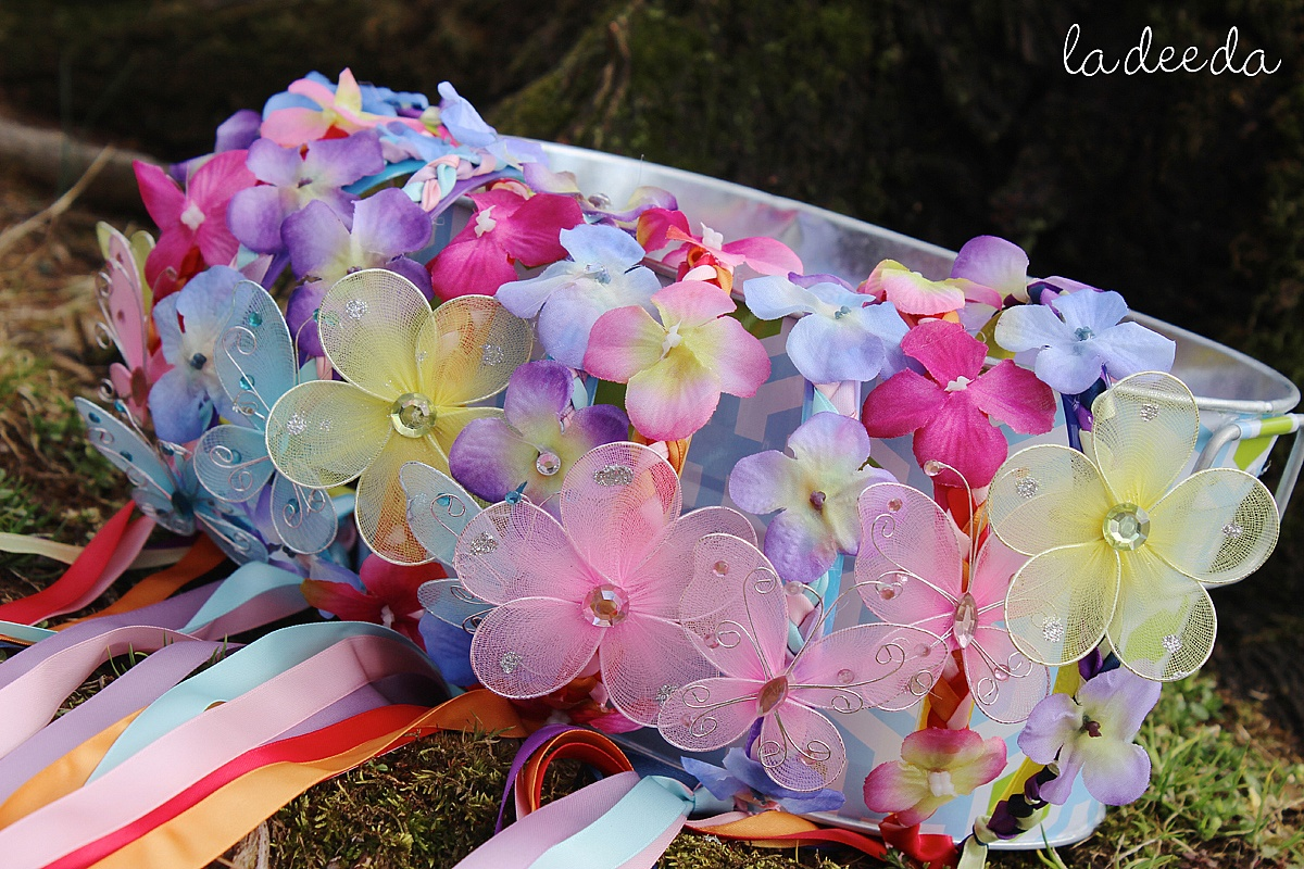 Flower Theme Tea Party