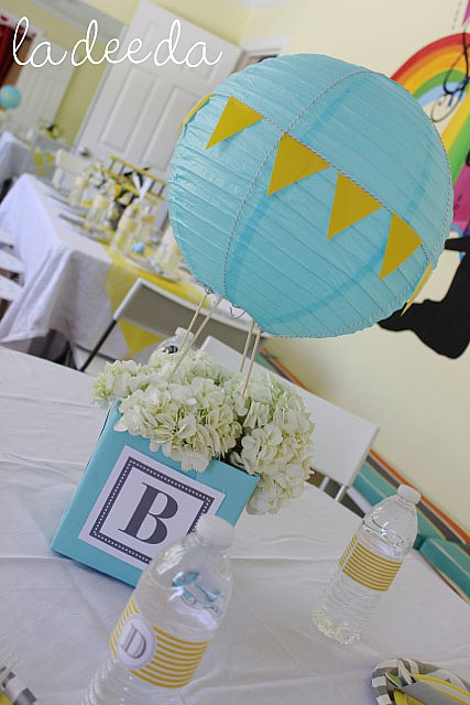 Yellow And Gray Chevron Pattern Made This Very Modern And Elegant. All The  Food Was Served On White Platters And The Decor Even Featured A Hand Made  Custom ...