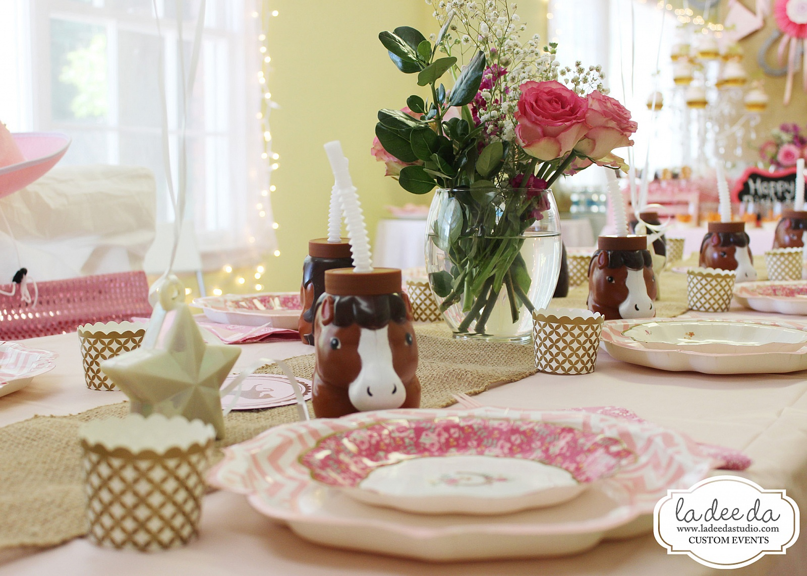 Vintage Pink Pony Party