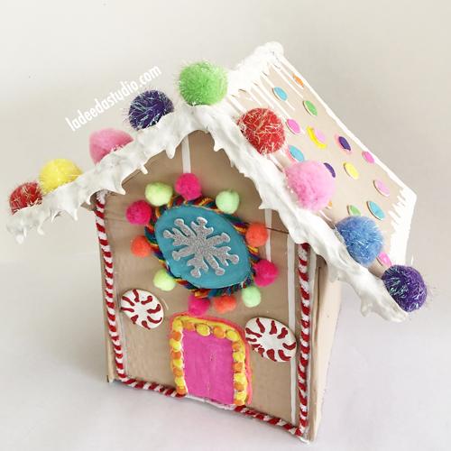 Atlanta Art Camp for Kids Gingerbread House Holiday Camp