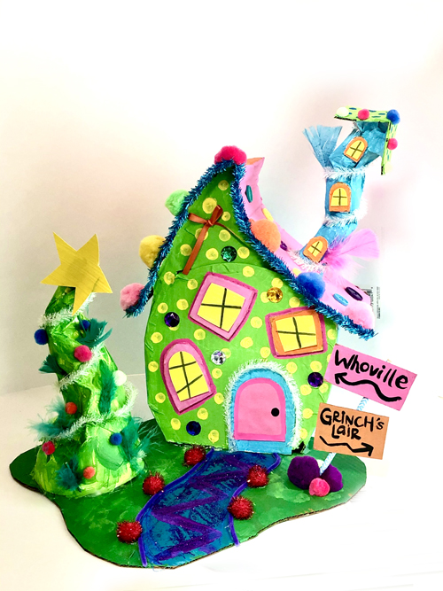 Sandy Springs Art Camp for Children - School Break Camps Grinch House