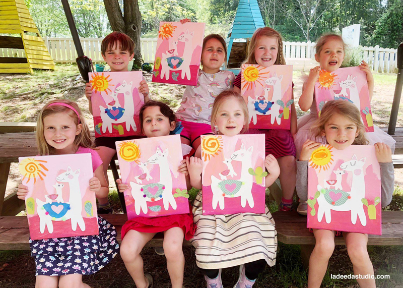 Art Classes for Kids in Atlanta, La Dee Da